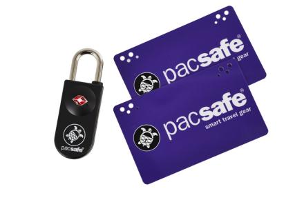 Pacsafe Prosafe 750 , violetti/musta 2018 Matkalukot