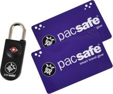 Pacsafe Prosafe 750 TSA-hyväksytty Avainkorttilukko, black 2019 Matkalukot