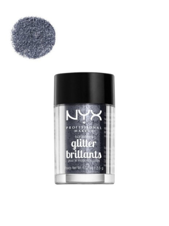 NYX Professional Makeup Face & Body Glitter Gunmetal