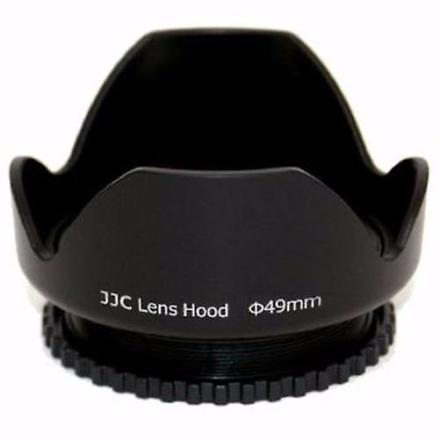 JJC 49mm reversibel skruen i solblender