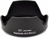 JJC ersättning Sony ALC-SH112 lins Hood för Sony 1