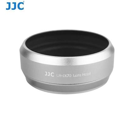 JJC LH-JX70 sølv - linse Filter Adapter Ring og solblender Fujifilm...