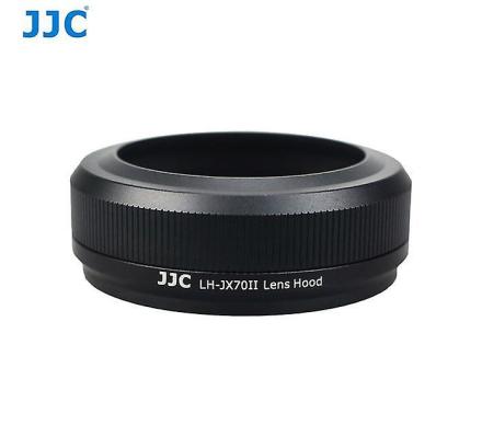 JJC LH-JX70II Black - linse Filter Adapter Ring og solblender Fujif...