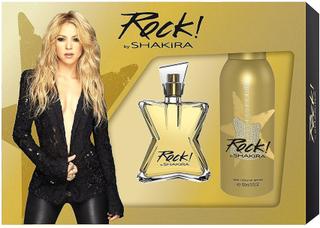 Shakira Rock! av Shakira gåva Set 50ml EDT + Deodorant Spray 150ml