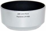 JJC ersättare Olympus LH-40B motljusskydd (silver)