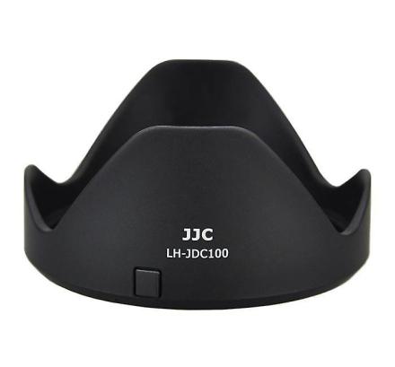JJC solblender og Filter Adapter erstatning Canon LH-DC100 & FA-DC6...