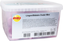 Hel Låda Lingon & Blåbärs Ovaler Mini - 20% rabatt