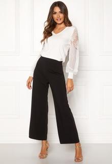 Happy Holly Gabriella wide pants Black 40