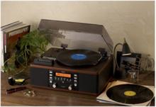 LP-R500A - audio system Pladespiller - Brun