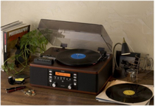 LP-R500A - audio system Skivspelare - Brown