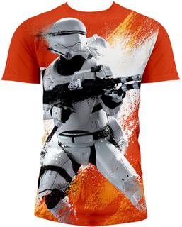 Tshirt Star Wars - Star Wars The Force Awakens Flametrooper (full print)