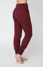 Asquith Long Harem Pants -bambuhousut (Claret)