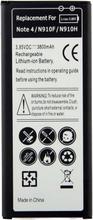 Ersättningbatteri Galaxy Note 4 kompatibelt med Samsung