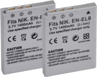 Ersättningsbatteri EN-EL8