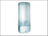 Byron ES81A plast säkerhet ljus med Motion Detecto