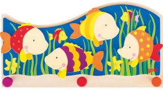 Goki Garderobe Fisk - flerfarvet