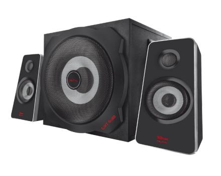 Tytan 2.1 Subwoofer Speaker Set with Bluetooth - Black