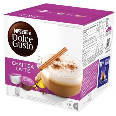 Nescafe Dolce Gusto Chai Tea Latte 16 kpl