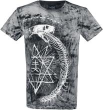Alchemy England - Ouroboros Snake -T-skjorte - svart