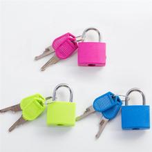 1pc Mini Locks Materiel Montessori Educational Toys For Children Cute Plastic Metal Lock Baby Kids Colors Learning Toy