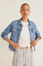 Mango - Kurtka jeansowa Vicky