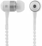 Streetz zipper in-ear headset, mikrofon, svarsknap