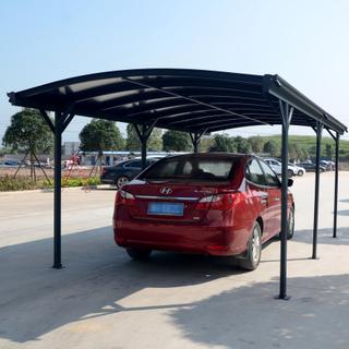 Carport 15,1m² - Extra hög