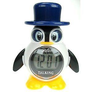 Refleks pingvin Digital Talking Alarm Clock 908-3102
