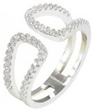 Everneed Filippa Ring Silver One Size