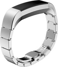 Fitbit Alta erstatningsreim av rustfritt stål - Sølv