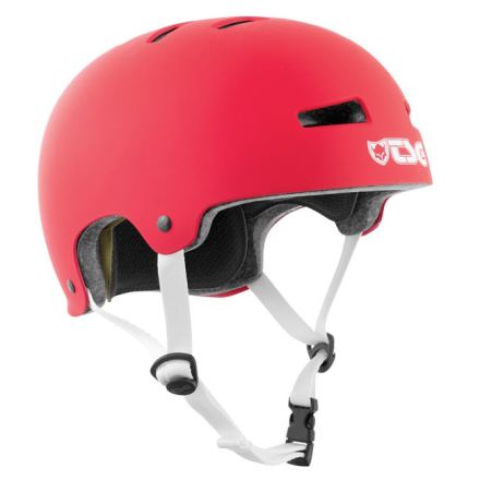 TSG Hjelm Evolution Solid - Fire Red