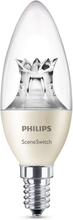 Philips Glödlampa LED SceneSwitch E14 Kr 40W 4st