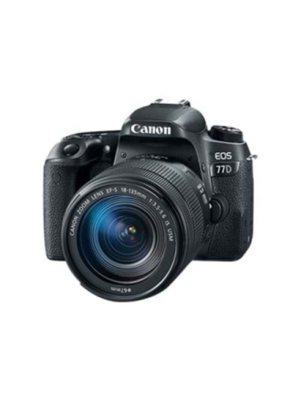 EOS 77D 18-135mm IS USM