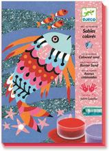 Djeco - Regnbågsfisk I Färgad Sand