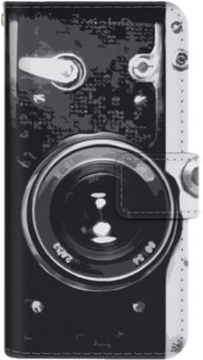 Samsung galaxy a3 (2017) plånboksfodral retro kame