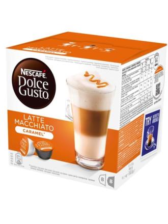 Dolce Gusto Latte Macchiato Caramel 8+8-pack