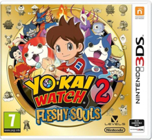 Yo-Kai Watch 2: Fleshy Souls - 3DS - Seikkailu
