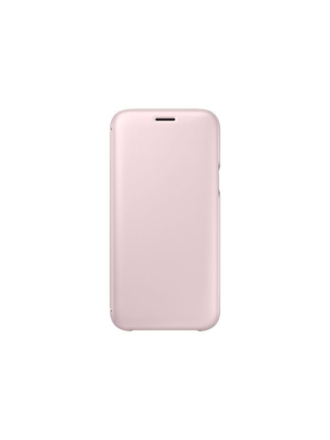 Galaxy J5 (2017) Wallet Cover - Pink