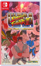 Ultra Street Fighter II: The Final Challengers - Nintendo Switch - Taistelu