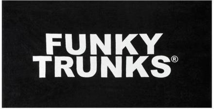 Funky Trunks Towel Pyyhe , musta 2019 Matkapyyhkeet