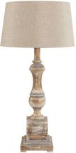 VENICE Table lamp - Natural wood