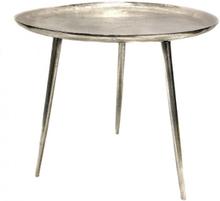 Alum Coffee Table, raw silver
