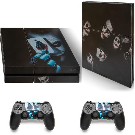 GNG Playstation 4 konsollen hud Vinyl Cover Decal klistremerker + 2...