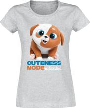 Pets - 2 - Cuteness Mode Activated -T-skjorte - gråmelert