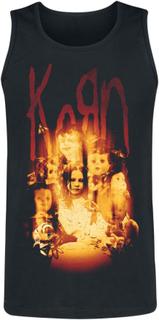Korn - Fire Dolls -Tanktopp - svart