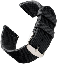 Bofink® Nordic Nylon Strap for Skagen Hagen - Black