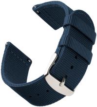 Bofink® Nordic Nylon Stropp For Fossil Tailor Hybrid - Navy