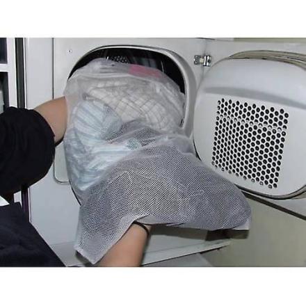 1 Caraselle Overtallig stor zip netto vask taske 74 x 50cms