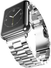 Apple Watch Series 4 40mm Luksus I Rustfritt Stål - Sølv