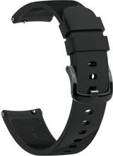 Garmin Forerunner 645 twill silicone watch band - Black